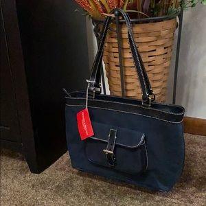 Dooney & Bourke Signature East/West Shoulder Bag